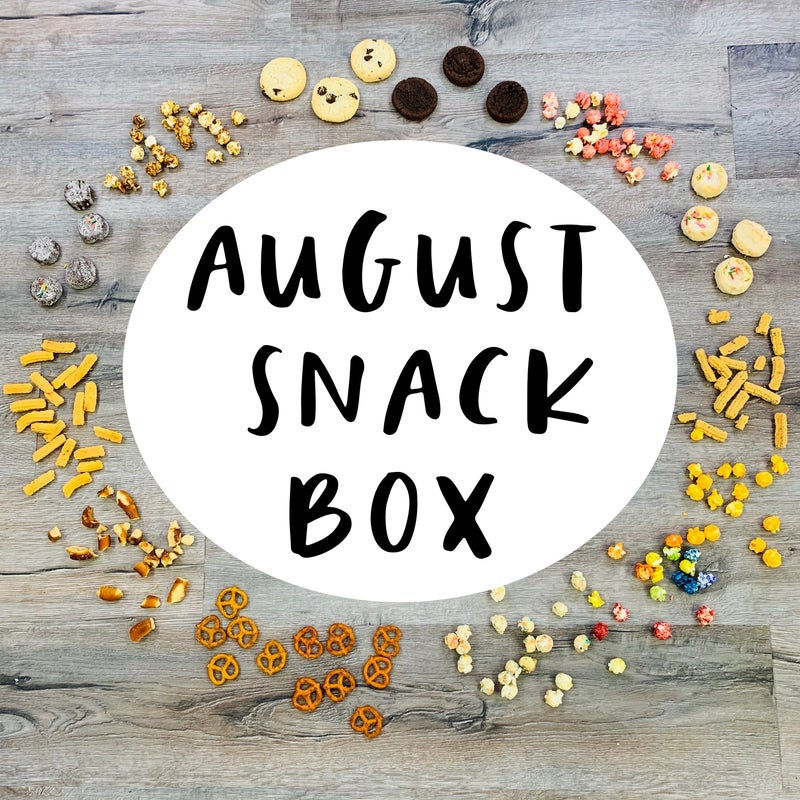 AUGUST MOCO Snack Box!