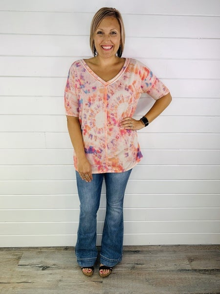 Dreaming of Sunsets Flowy Top