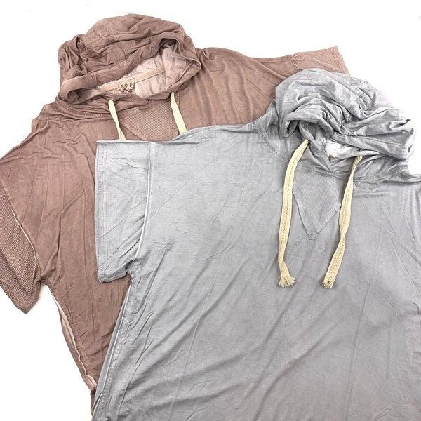 POL Short Sleeve Hooded Top