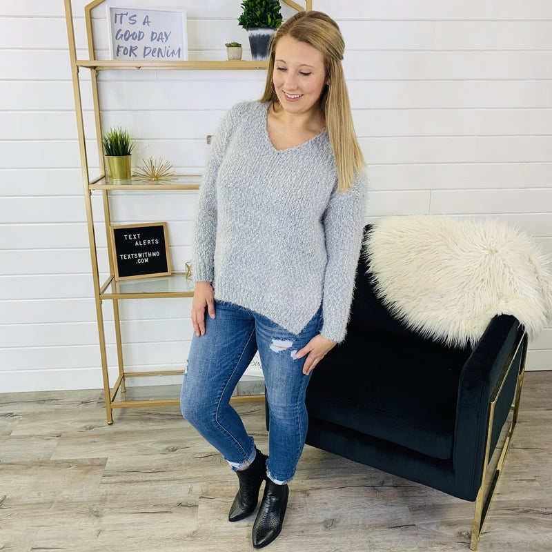 Meet Me Somewhere Sweater- 2 Colors!