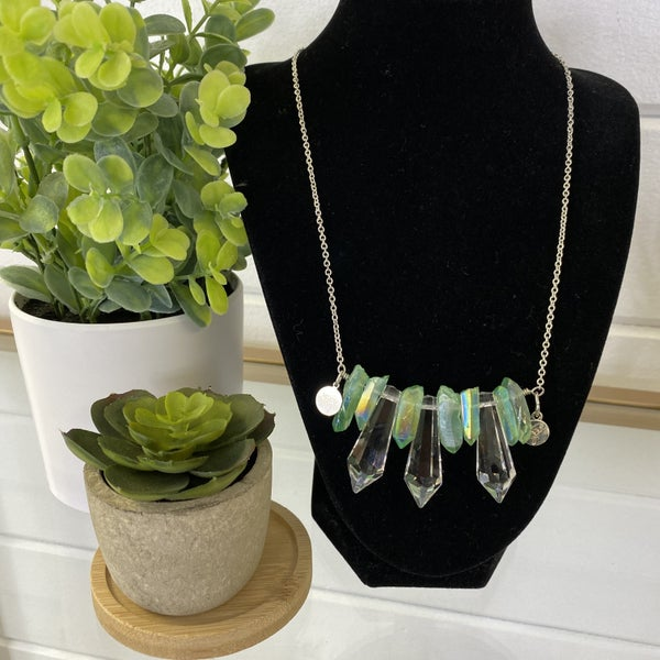 Custom MOCO Crystal Necklace