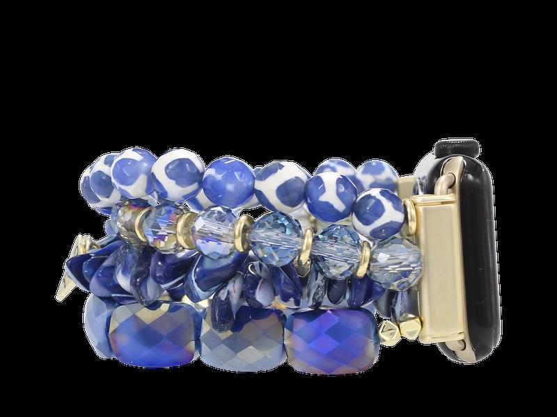 Erimish Navy Apple Watch Band