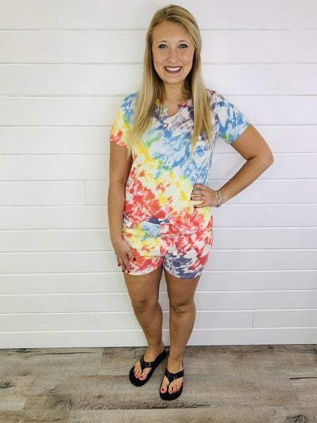 PLUS/REG Tie Dye For Shorts