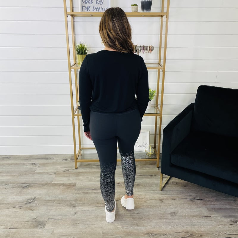 DOORBUSTER PLUS/REG Make It Work Leggings- 2 Colors!