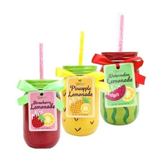 Lemonade Drink Mix With Cup -- 3 Flavors!