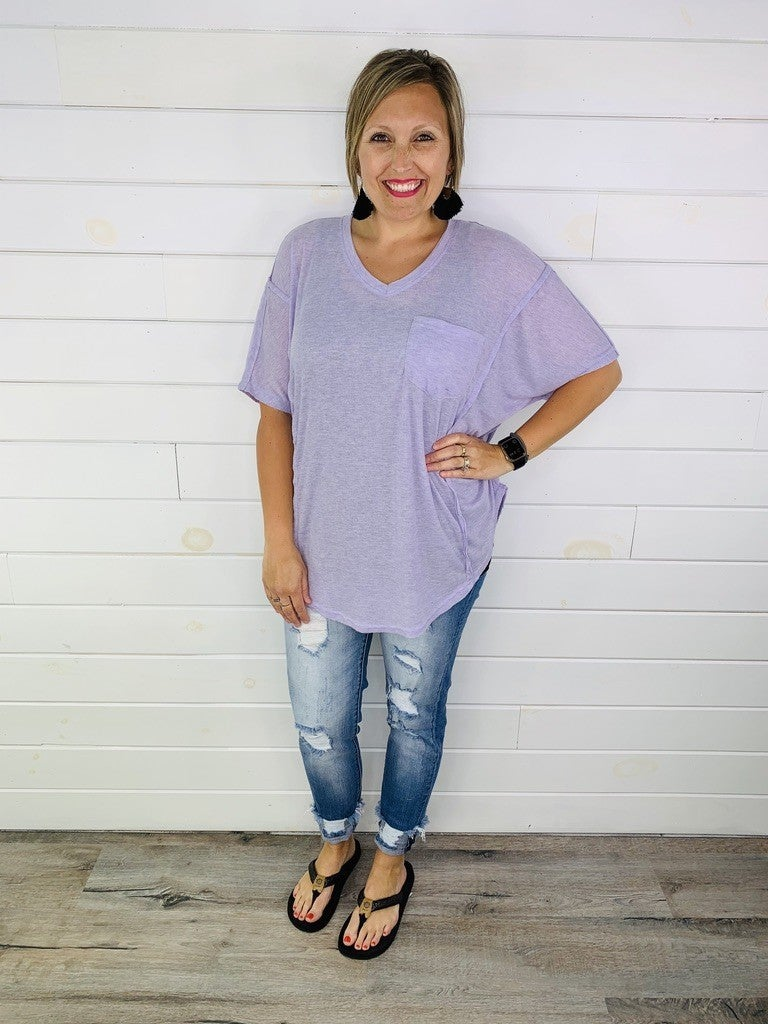 PREAUTHORIZE! EASEL Doorbuster Super Soft Oversized Tee - 4 Colors!