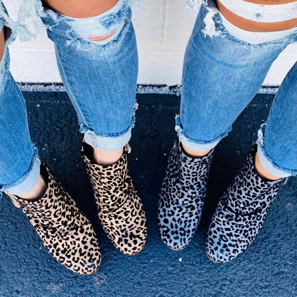 Blowfish High Standards Cheetah Booties