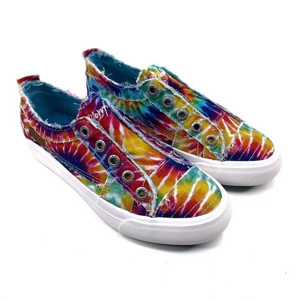 Blowfish Rainbow Tie Dye Slip On Sneakers