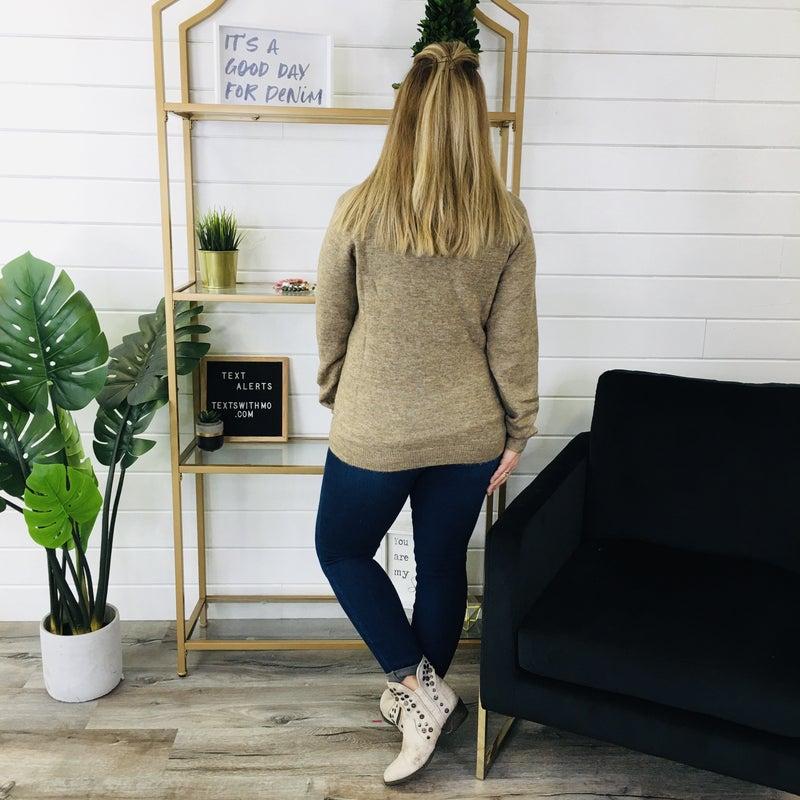 PLUS/REG Charm The Room Sweater- 2 Colors!