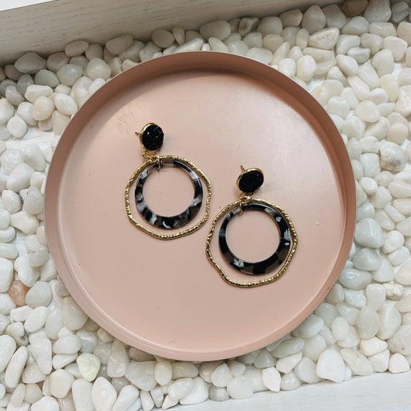 Gold Caroline Earrings