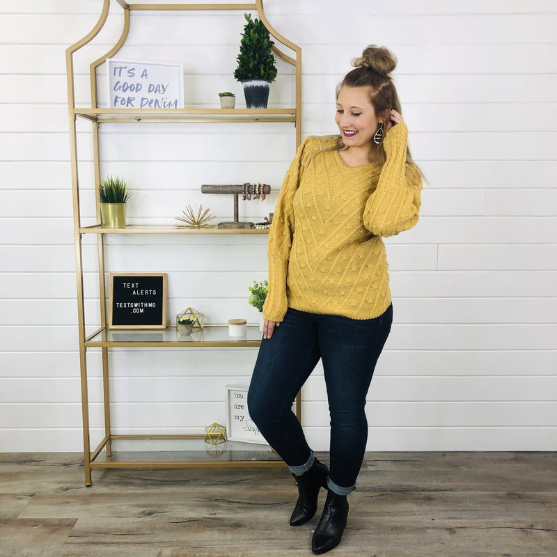 This Time Around Sweater- 2 Colors!