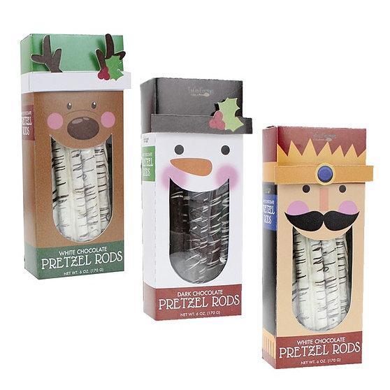 Holiday Pretzel Rods- 3 Flavors!