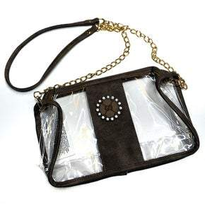 Authentic Upcycled Gucci Clear Crossbody