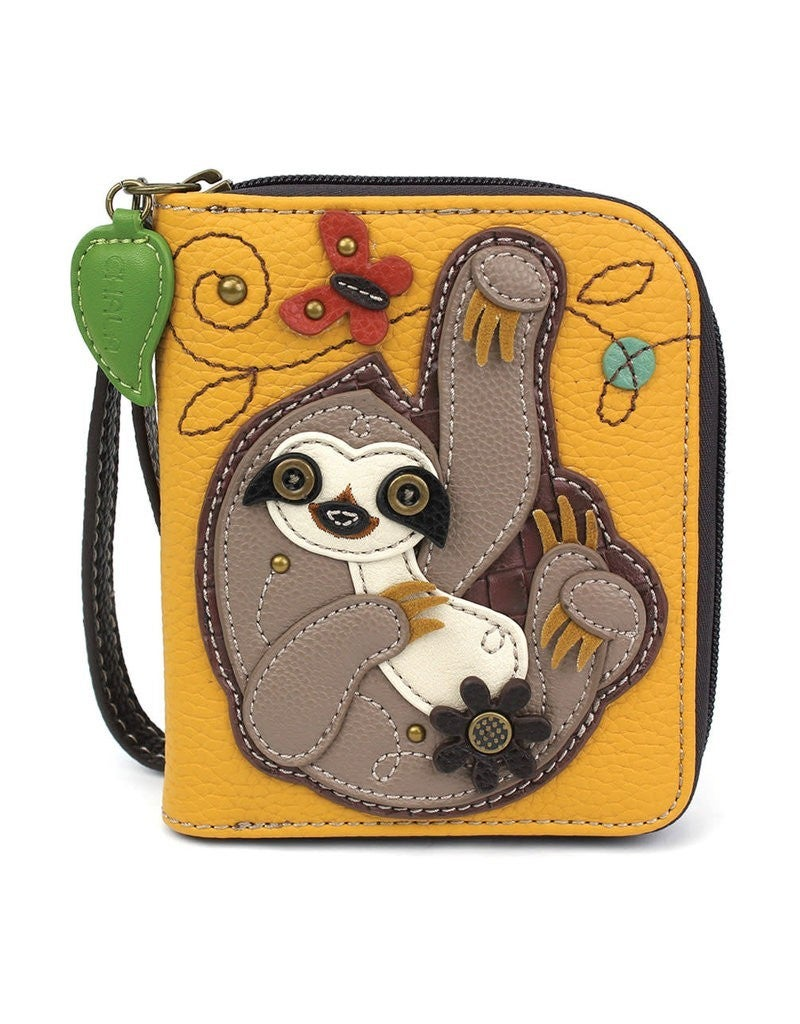 Chala Zip Wallet with Wrist Strap