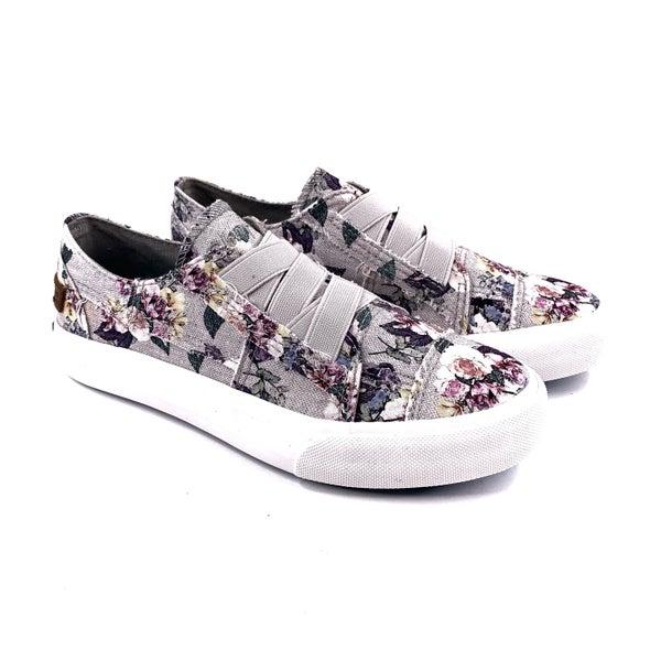 Blowfish Grey Floral Slip on Sneaker with Memory Foam