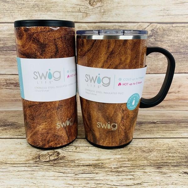 Black Walnut Insulated Cups