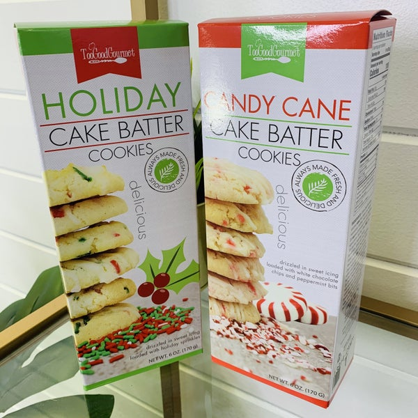 Holiday Cake Batter Cookies- 2 Flavors!