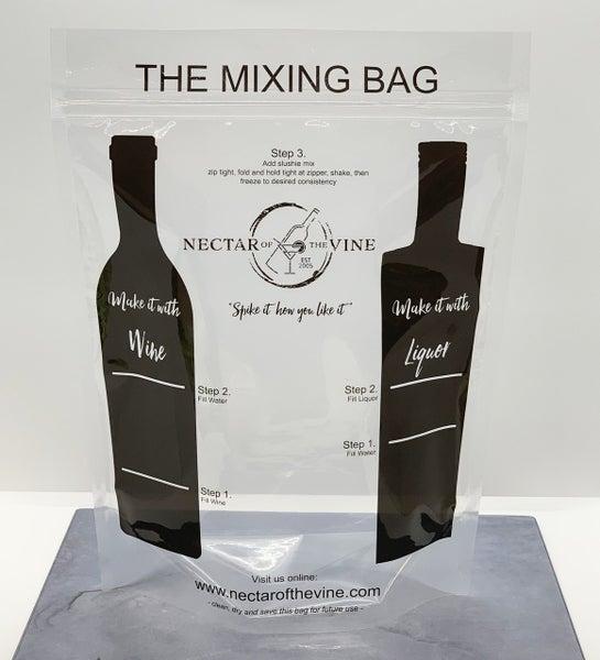 Reusable Wine Slushie Mixing Bags