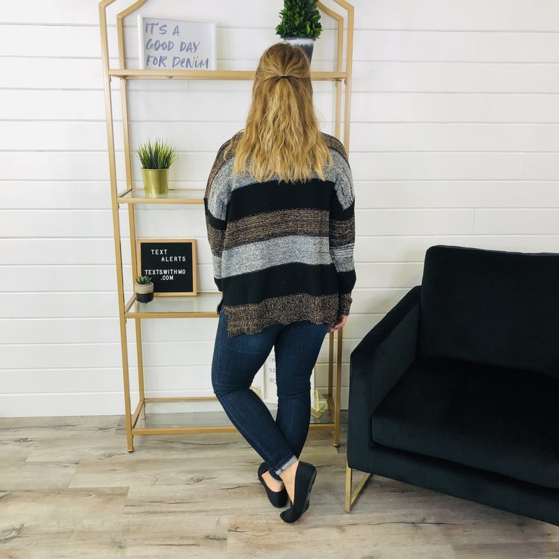 Worth Watching Sweater- 2 Colors!