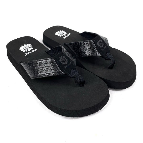 Yellowbox Black Flip Flops
