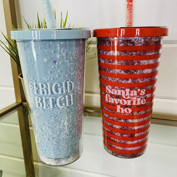 Snarky Christmas Tumbler- 2 Colors!