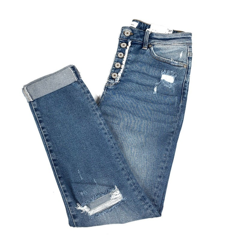 Plus/Reg Kan Can Girl You So Fly Jeans