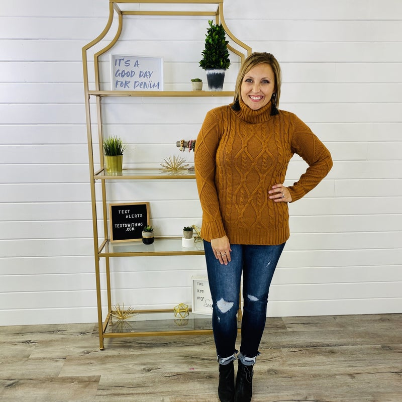 DOORBUSTER Roll With The Flow Sweater- 3 Colors!