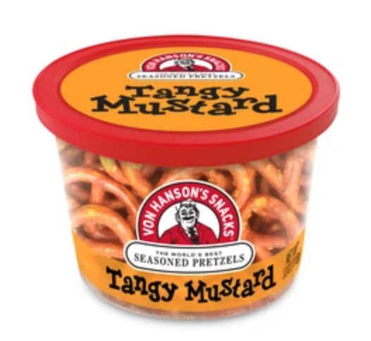 PREAUTHORIZE! Flavored Pretzel Snack Cups