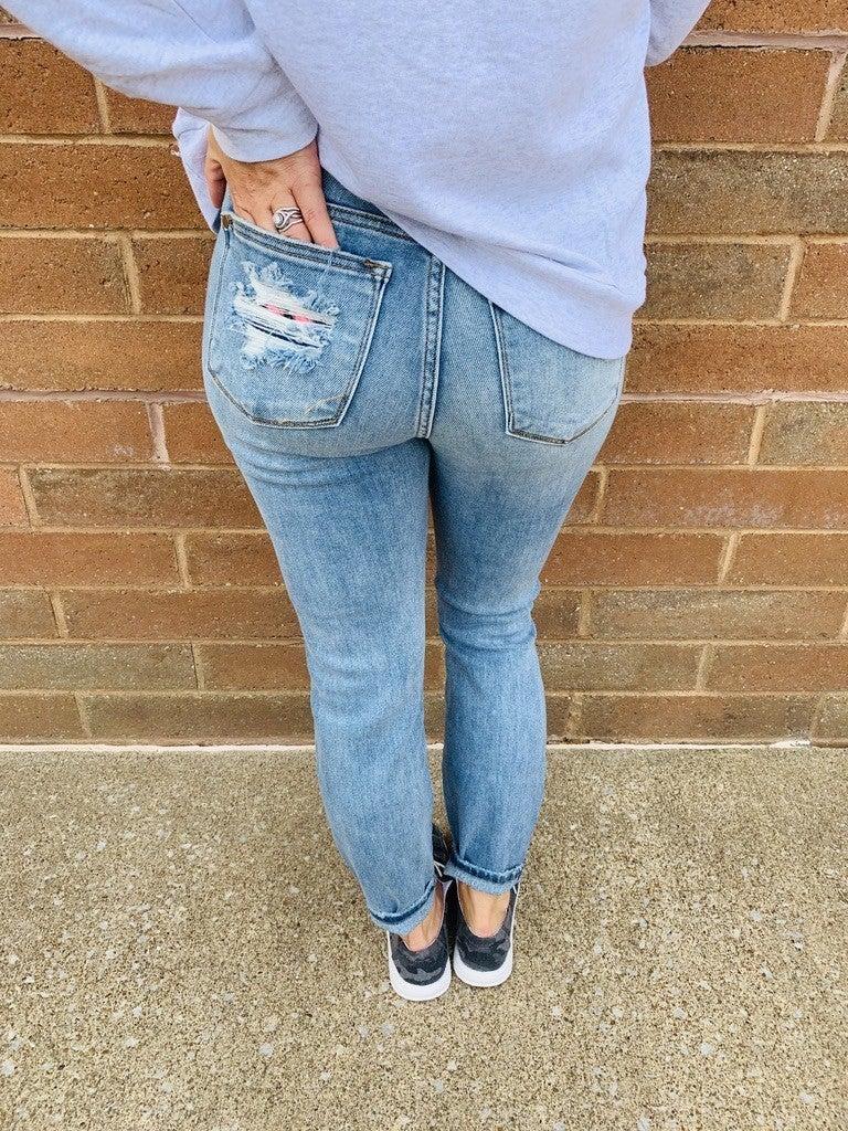 RESTOCK! Best Seller! PLUS/REG Judy Blue YOUR MAMA Jeans