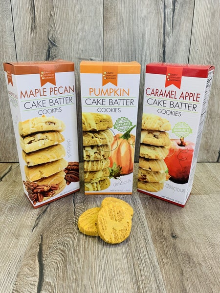 Seasonal Cake Batter Cookies- 3 Flavors!