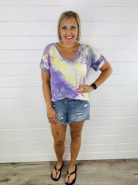 Judy Blue Plus/Reg Sunshine Vibes Shorts