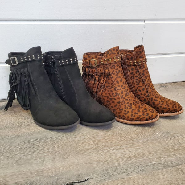 Very G Oh She Fab Booties- 2  Colors!