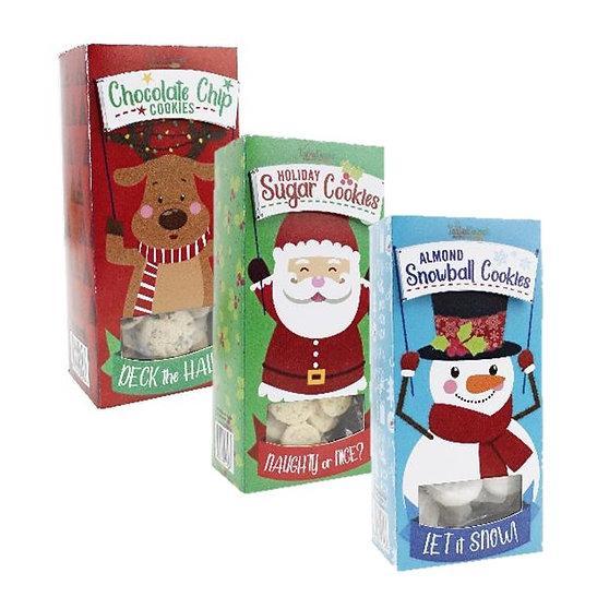 Santa's Friends Cookies- 3 Flavors!