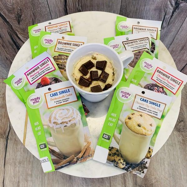 Mug Cake Mixes- 6 Flavors!