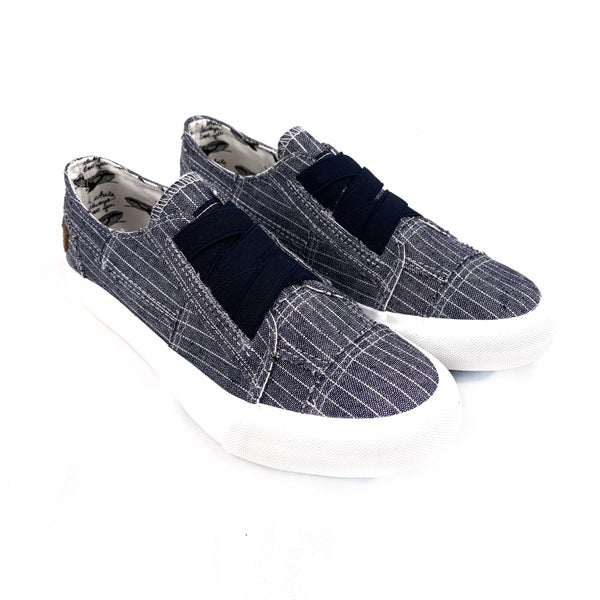 Blowfish Denim Navy Nautical Slip on Sneakers