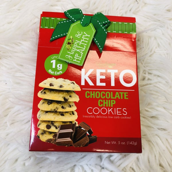 Holiday Chocolate Chip Keto Cookies