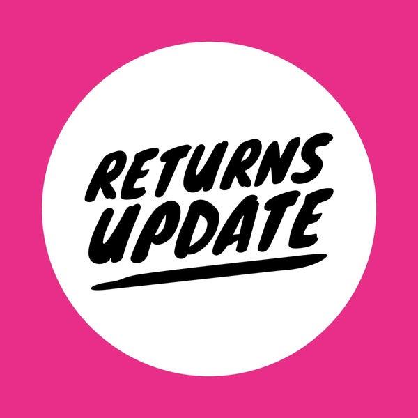 Return Policy Update