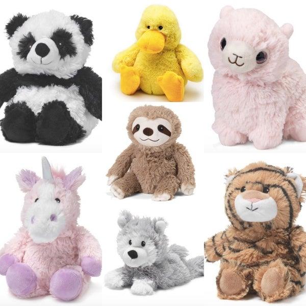 Warmies-- Mini Microwaveable Stuffed Animals