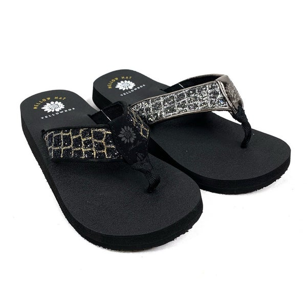 Yellowbox Mellow Mat Crocodile Flip Flops - 2 Colors!