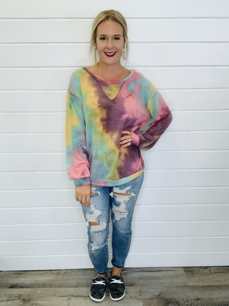 Tie Dying Without You Top