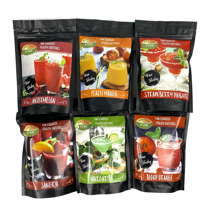 Restock! Wine Slushy Mix - 10 Flavors!!