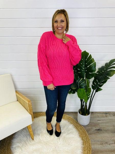 Double Bubble Sweater- 2 Colors!