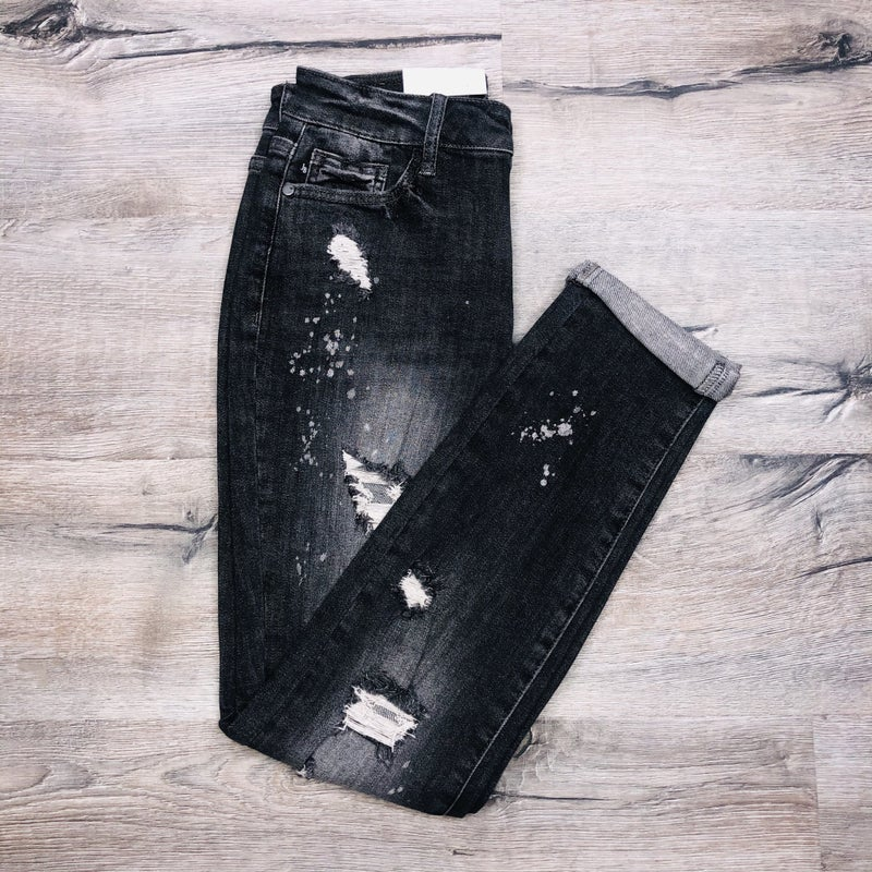 Plus/Reg Judy Blue My Boyfriend's Back Jeans