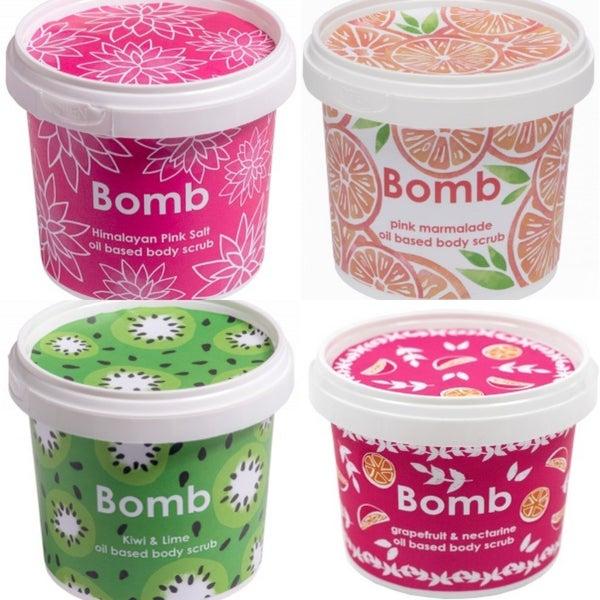 Bomb Natural Body Scrub