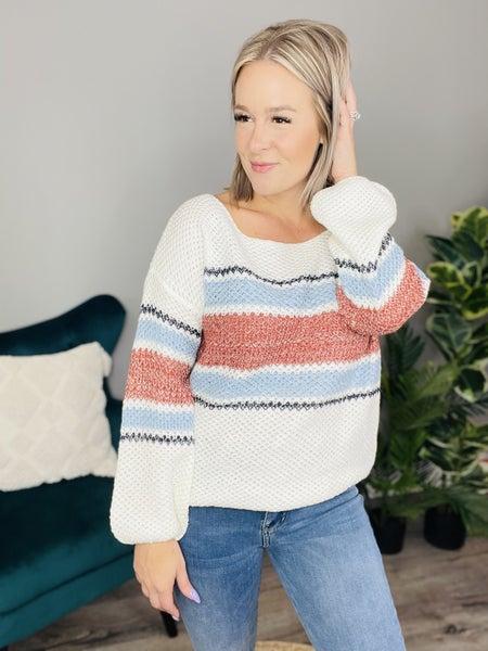 See Me Around Sweater