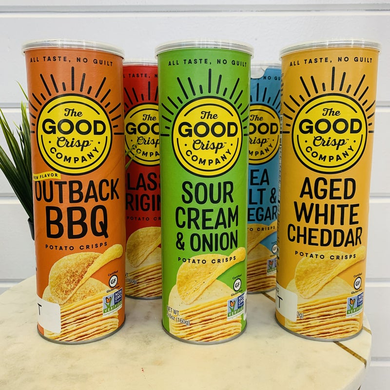 Potato Chips- 5 Flavors!