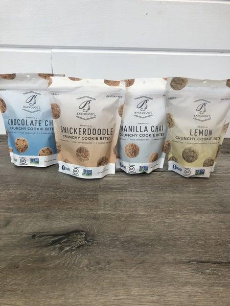 Crunchy Cookie Bites- 4 Flavors!