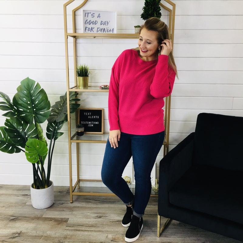 DOORBUSTER Got A Good Feeling Sweater- 6 Colors!