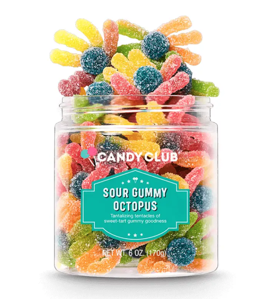 Gourmet Candy Sour Gummy Octopus