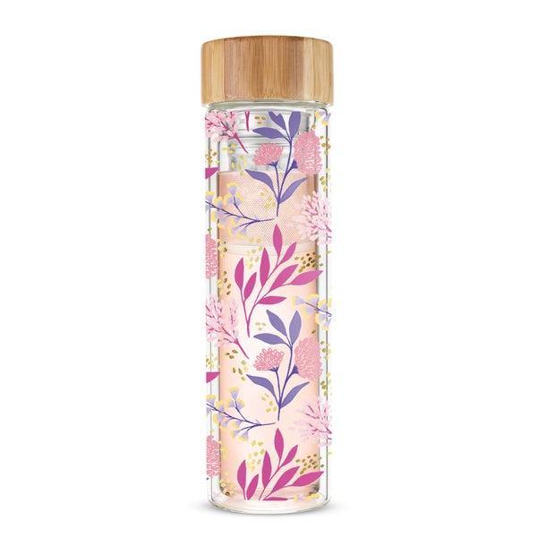 Blair™ Botanical Bliss Glass Travel Infuser Mug by Pinky Up®